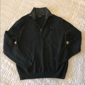 Express Men's Zip Up Sweater